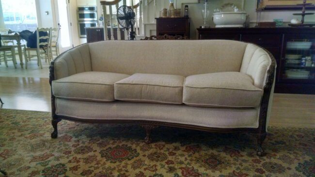 meek sofa reupholster