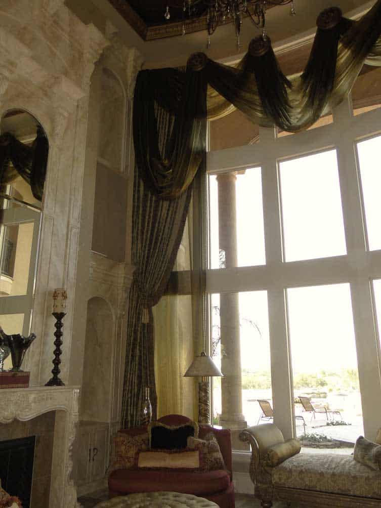 window treatment formal living room