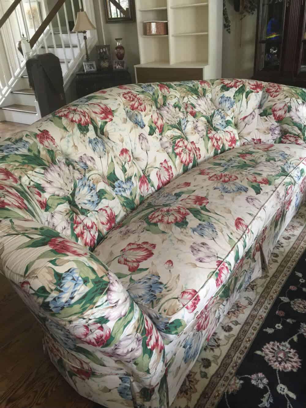 lowe sofa before